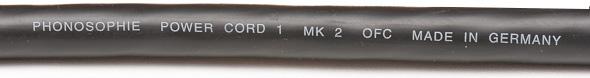 Phonosophie Power Cord 1 MK 2.1